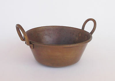 Vintage Brass Small Pan With Two Handles
