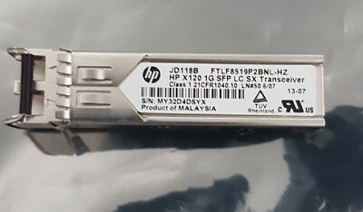 Genuine HP JD118B X120 1G SFP LC SX Transceiver