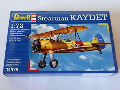 Revell 04676 Stearman Kaydet USAAF US Air Force Biplane Fighter 1:72 Doppeldecke