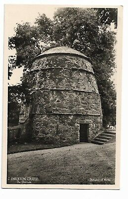 The Dovecote, Dirleton Castle, Scotland Vintage Real Photo Postcard 364H