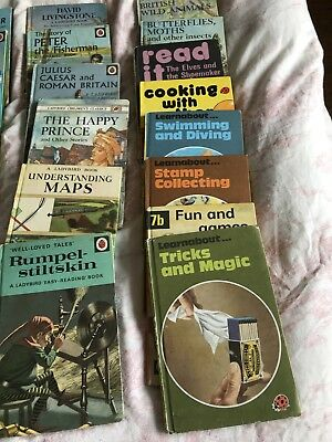 Job Lot Of Ladybird Books All Vintage