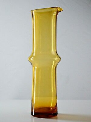 Vintage / Retro, Tall Amber Glass Cocktail Jug / Pitcher - Scandinavian -Aseda ?