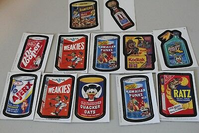 """2005 Wacky Packages All New Series2 (ANS2) """"MAGNETS"""" & Cards"""