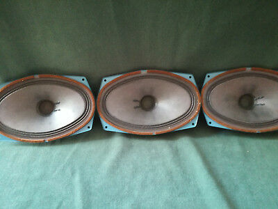 3x TESLA Lautsprecher Speaker ARE 667 - 5 VA - 4 OHM (Breitband) TOP