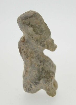 Neolithic HongShan Culture Chinese Antique Old Jade Stone Amulet Carving Amulet