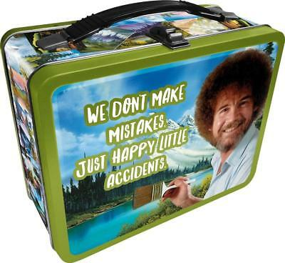 "Bob Ross ""Happy Accidents"" Collectible Tin Lunchbox"