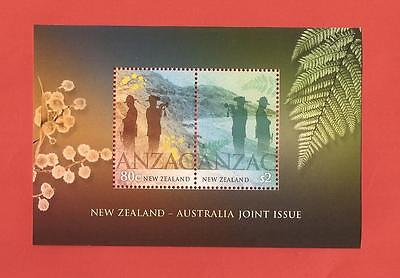 Australien: Block (Joint Issue New Zealand) - postfrisch - siehe Bild