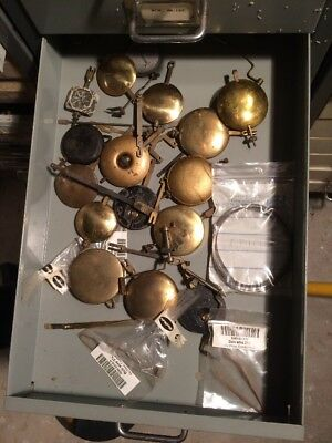 Clock  Parts ,    12  Mantel  Clock  Pendulums
