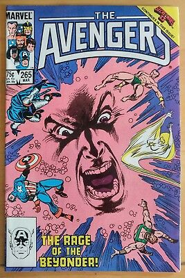 The AVENGERS #265 (1986 MARVEL Comics) ~ GD Comic Book