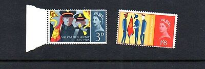 GB - 1965 Salvation Army MNH phos postage stamps