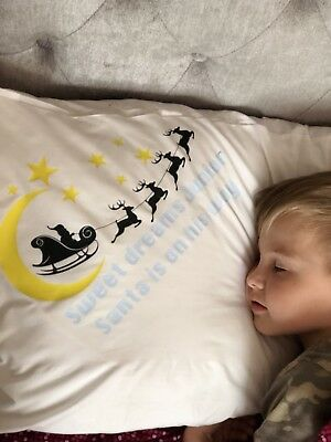 Christmas Eve Personalised Pillow Case
