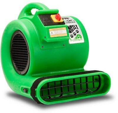 B-Air Floor Blower Fan 1HP Air Mover Water Damage Restoration Carpet Dryer Green