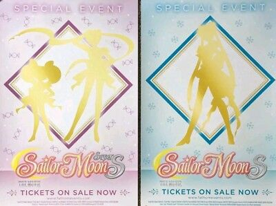 Sailor Moon S The movie Double sided special event poster