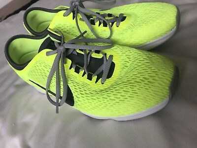 Nike Zoom Running Shows Neon Yellow Size 4.5
