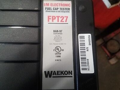 Fpt27 Hickok Waekon I/m Fuel Cap Pressure With Ftp25-07 Fuel Cap Adapter Set