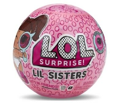 LOL SURPRISE DOLLS - SERIES 4 LIL SISTERS EYE SPY 100% Authentic NEW & SEALED