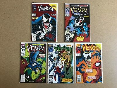 Venom Lethal Protector 1 2 3 4 6 VF/NM Comics Comic Books Lot of 5