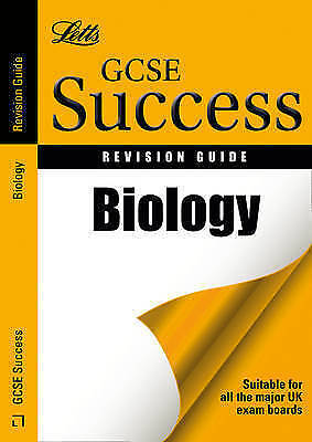 Letts GCSE Revision Success - Biology: Revision Guide by Ian Honeysett...