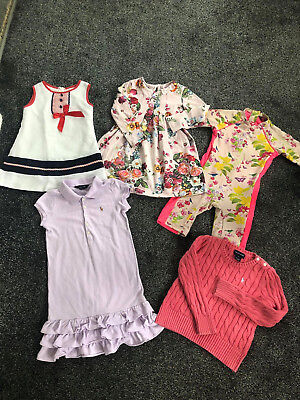 girls age 5/6 years  ted baker