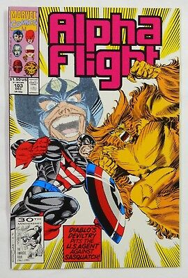 VINTAGE! Marvel Comics Alpha Flight #103 (1991)-US Agent