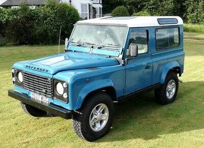 Land Rover DEFENDER 90 Station Wagon 1991 300TDI Rebuilt on a Galvanized Chassis