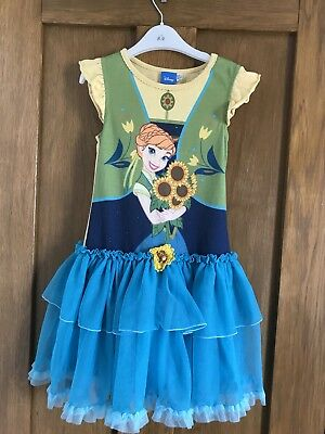 Girls Frozen Dress Age 5-6