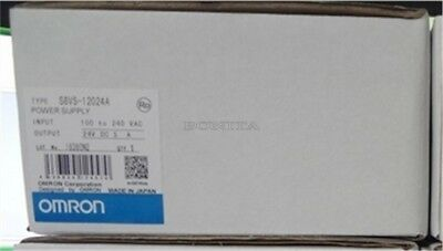1Pc Omron Power Supply S8VS-12024 100-240V 24Vdc New In Box qc
