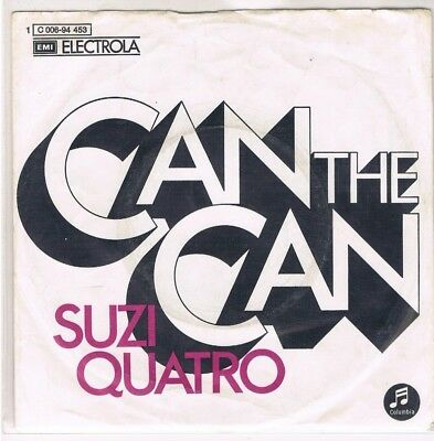 "7"" - Suzi QUATRO - CAN THE CAN - german PS"