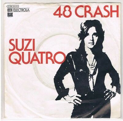"7"" - Suzi QUATRO -  48 CRASH - german PS"