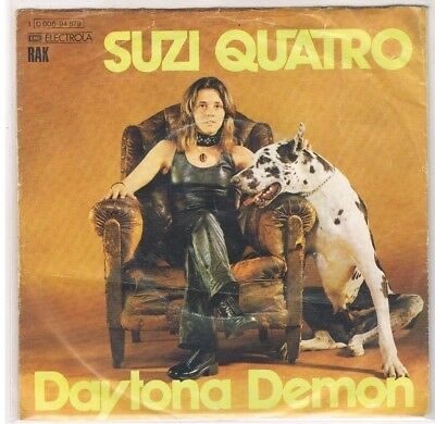 "7"" - Suzi QUATRO - DAYTONA DEMON - german PS"