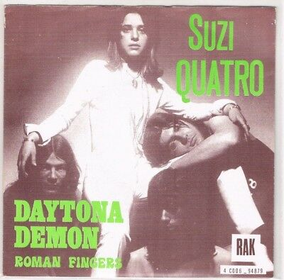 "7"" - Suzi QUATRO - DAYTONA DEMON - Very Different Belgian PS"