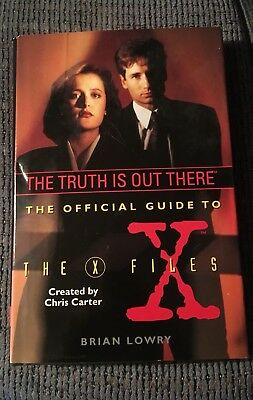 The Offical Guide To The X Files By Brian Lowry
