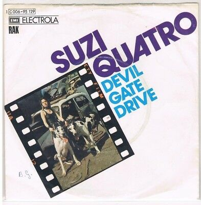 "7"" - Suzi QUATRO - DEVIL GATE DRIVE - german PS"