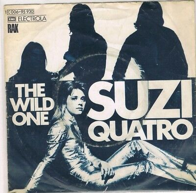 "7"" - Suzi QUATRO - THE WILD ONE - german PS"