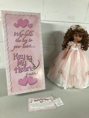 """Linda Rick Doll - Key To My Heart/Graceful as Can Be...18"""" #047 ESTATE FIND"""