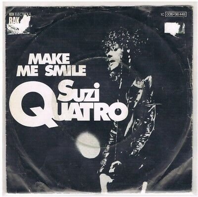 "7"" - Suzi QUATRO - MAKE ME SMILE - german PS"