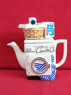 **superb Very Rare Amway Cardew Washing Machine Teapot** **brill Condition**