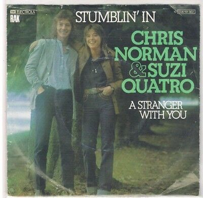 "7"" - Chris NORMAN & Suzi QUATRO - STUMBLIN` IN - german PS"