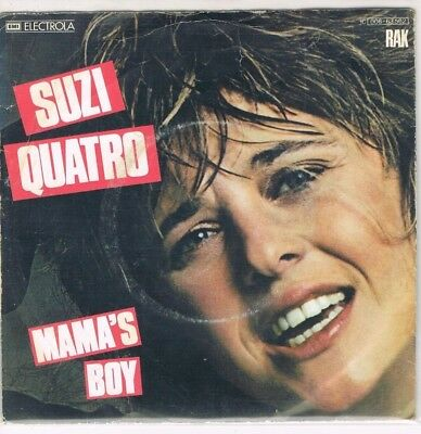 "7"" - Suzi QUATRO - MAMA`S BOY - german PS"