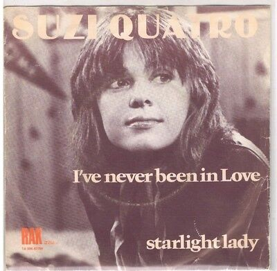 "7"" - Suzi QUATRO - I´VE NEVER BEEN IN LOVE - dutch PS"