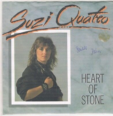 "7"" - Suzi QUATRO - HEART OF STONE - german PS"