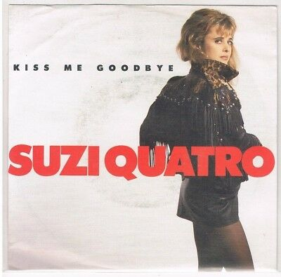 "7"" - Suzi QUATRO - KISS ME GOODBYE - german PS"