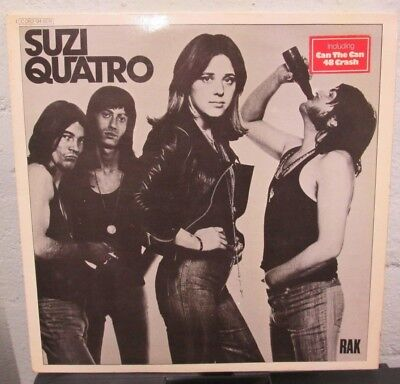 LP - Suzi QUATRO - SAME (ERSTE) - german Press