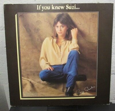 LP - Suzi QUATRO - IF YOU KNEW SUZI...  - german Press