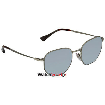 a53680a2eb PERSOL LIGHT GREEN Mirror Silver Sunglasses PO2446S 105830 52 ...