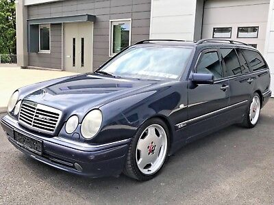 Mercedes Benz E55 Amg Auto+Sunroof+Limited Edition+ Fully Loaded+Heated 7Seats