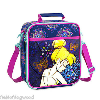 NWT DISNEY Store TINKER BELL LUNCH BOX Tote INSULATED School