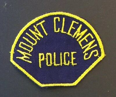 City of Mount Clemens, Michigan Police Patch