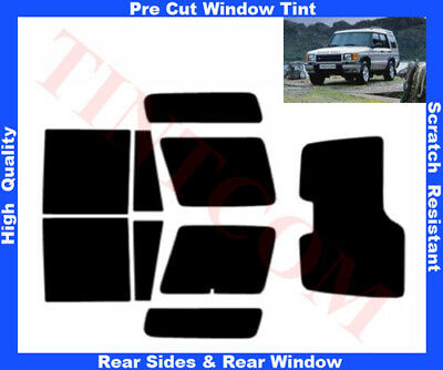 Land Rover Discovery 2 99-04 Pre-Cut Window Tint 5%-50% Rear Window& Rear Sides
