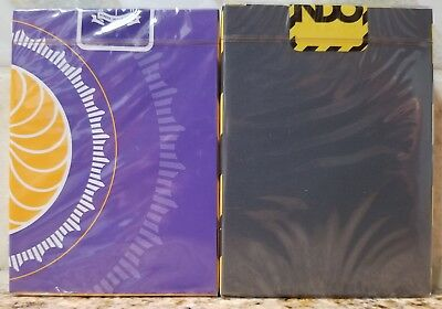 2 New CARDISTRY Playing Cards By Jaspas Deck Fontaine Virtuoso Hype Stripe Orbit